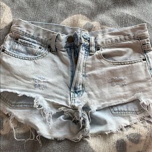 Urban Outfitters Distressed Jean Short